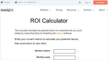 Why you need an ROI Calculator on your Website