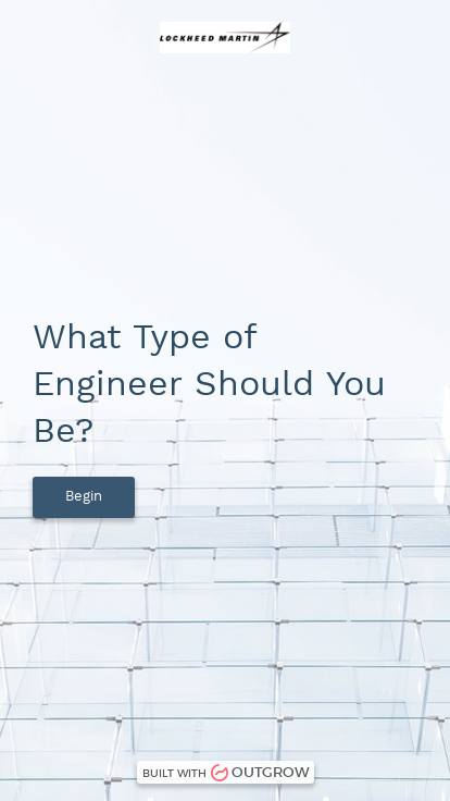 QUIZ: What Type of Engineer Should You Be? | Lockheed Martin