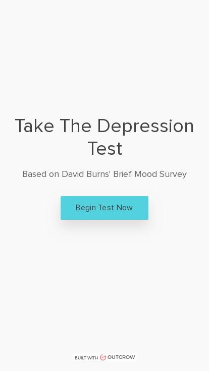 Test dpression Take a
